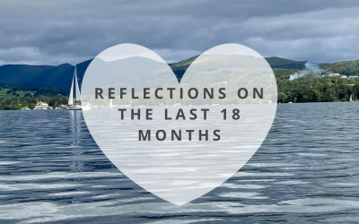 Reflections on the last 18 months